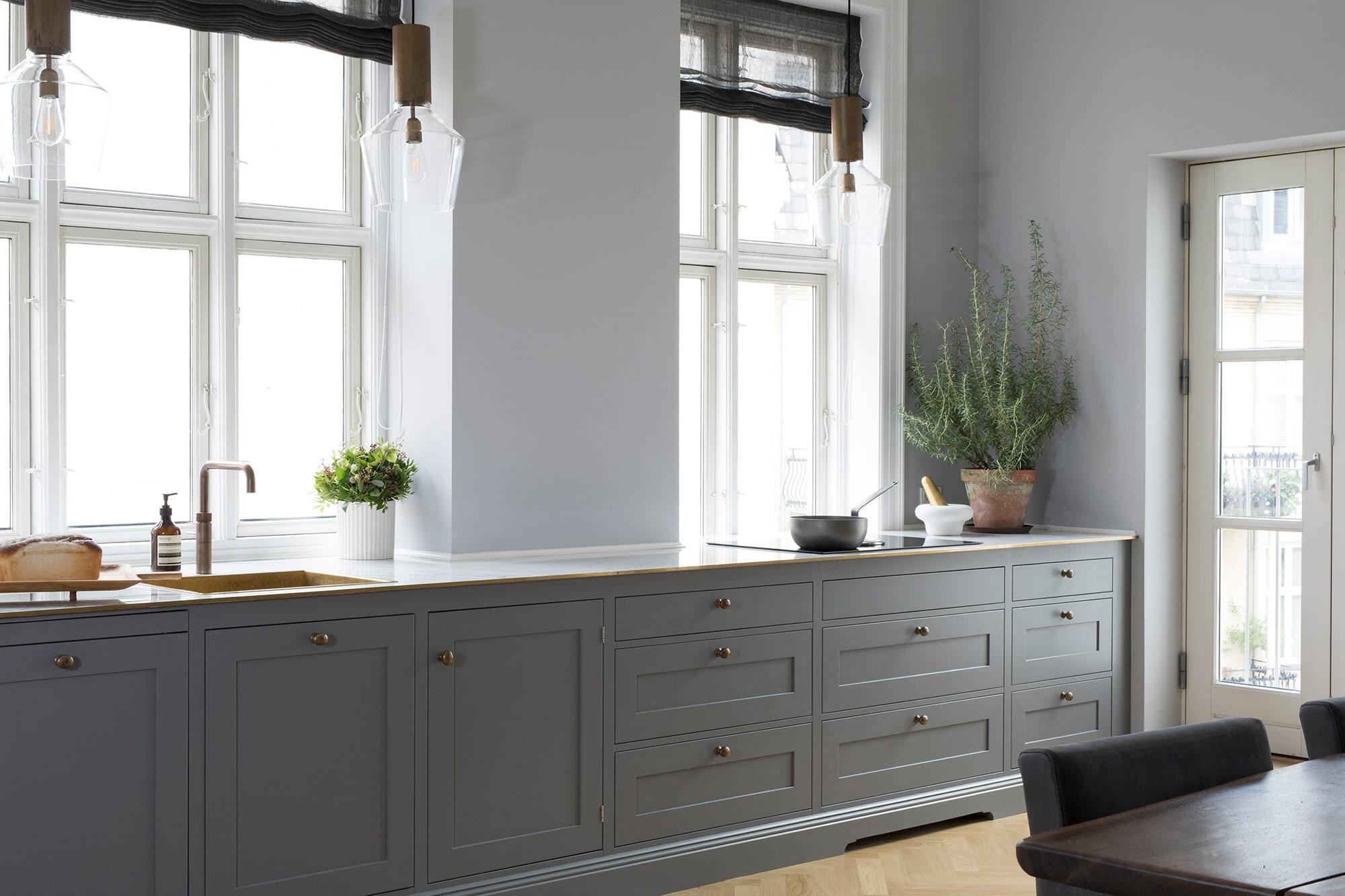 Bespoke Swedish Shaker Kitchen